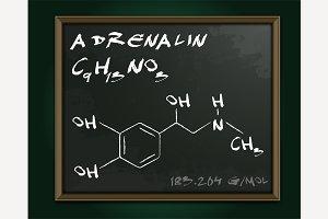 Adrenalin Molecule