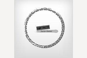 Tire Grunge Stamp