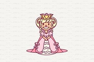 ♥ vector single Little Princess
