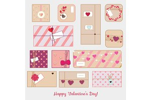St Valentine's day gift boxes