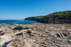 Blue coast of Portinatx
