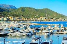 Marina in French Reviera