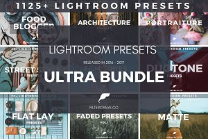 1125+ Lightroom Preset Ultra BUNDLE