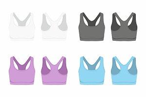 Women's sport bra