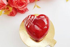Heart Cake II