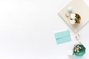 Styled Turquoise Creative Desktop