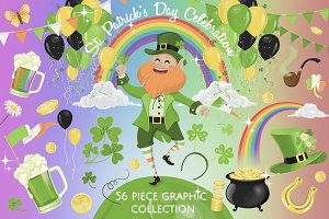 St. Patrick's Day Graphic Collection