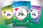 The Spring 2018 - PSD Flyer Template