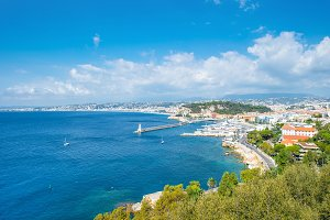 Nice city french riviera France