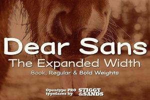 Dear Sans Expanded Family