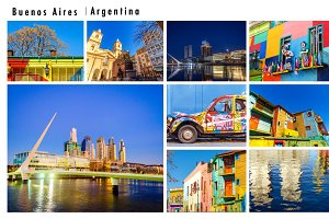 Buenos Aires, Argentina Photo Pack