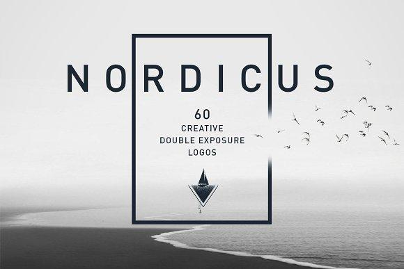 Nordicus. 60 Creative Logos in Illustrations