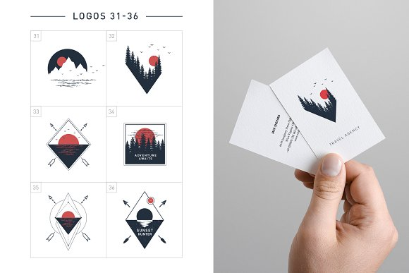 Nordicus. 60 Creative Logos in Illustrations - product preview 10