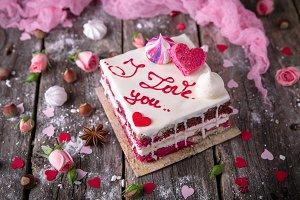 St. Valentine's Day Cake