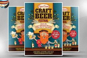 Craft Beer Flyer Template