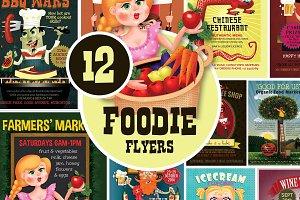 12 Foodie Flyers Bundle