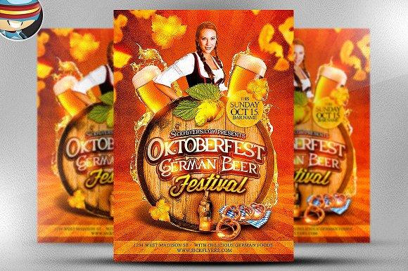 Oktoberfest Beer Festival Template