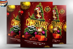 Christmas Bash Flyer Template