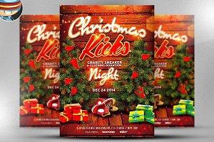 Christmas Kicks Flyer Template