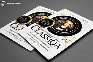 Classiqa Flyer Template