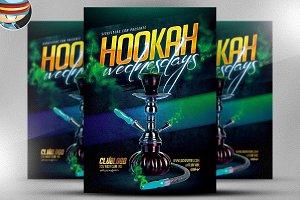 Hookah Wednesday Flyer Template