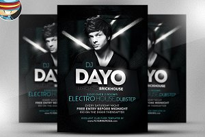 Dayo DJ Flyer Template