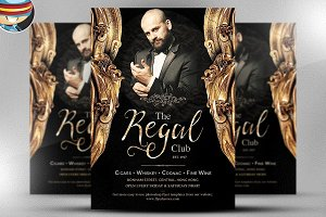 The Regal Flyer Template