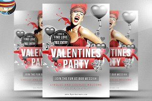 Valentine's Flyer Template