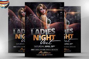 Ladies Night Out Flyer Template