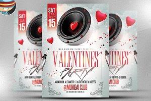 Valentine's Speaker Night Flyer