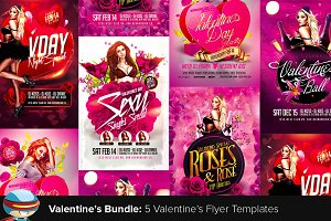 Valentine's Flyer Bundle 1