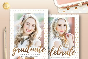 Senior Graduation Invitation SG002