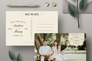 Save The Date Template SD003