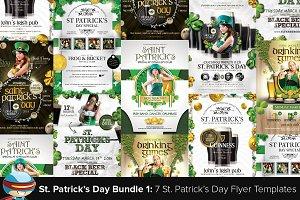 Saint Patrick's Day Flyer Bundle 1