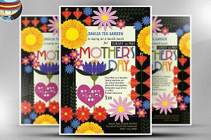 Illustrated Mother's Day Flyer