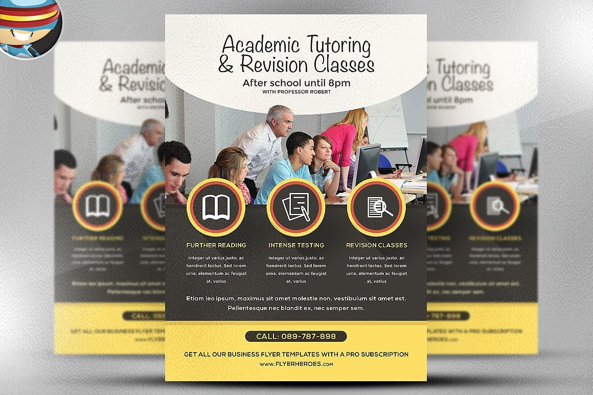 Academic studies flyer template flyer templates for Research study flyer template