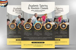 Academic Studies Flyer Template