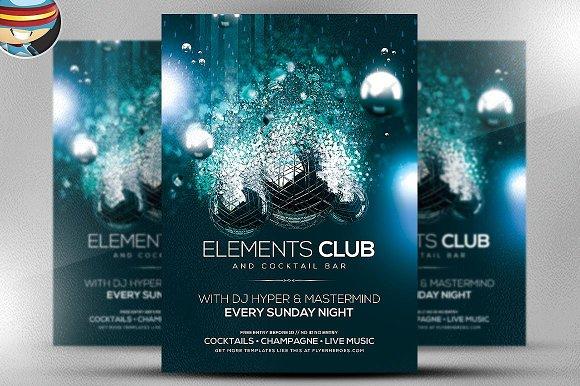 Elements Flyer Template