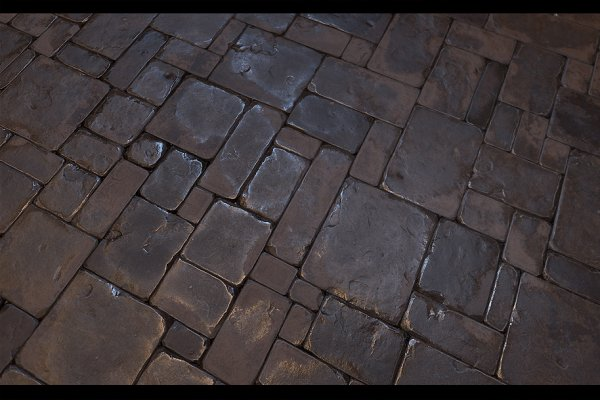 3D Tile: Environment Design - Stone Floor Tile 01