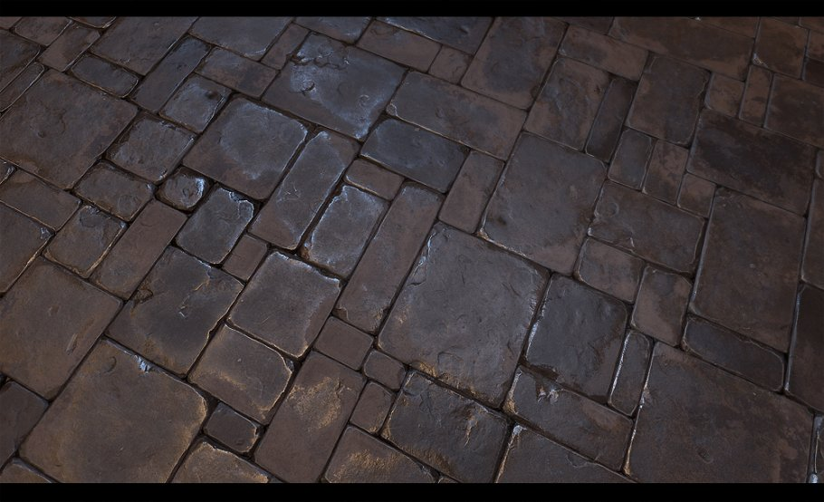 Stone Floor Tile 01 Tile Creative Market
