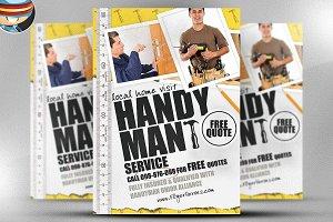 Handyman Flyer Template