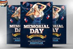 Memorial Day Weekend Flyer 1