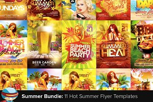 Flyerheroes Summer Flyer Bundle