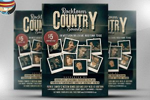 Rocktown Country Sounds Poster