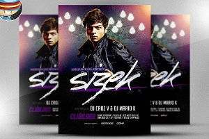 Sizek DJ Flyer Template