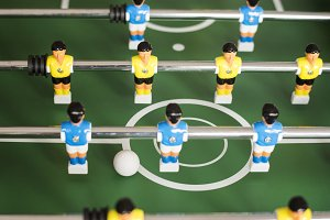 Foosball Table Game Recreation