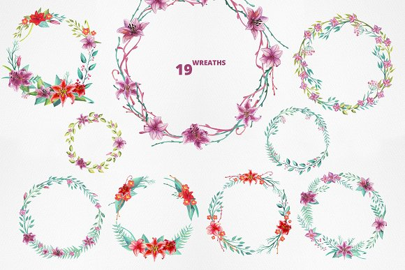 Lilly Alphabet Graphic Set in Illustrations - product preview 8