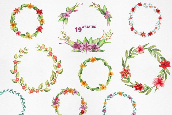 Lilly Alphabet Graphic Set in Illustrations - product preview 9