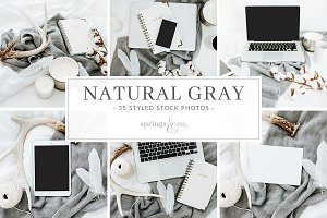 Natural Gray Styled Stock Photos