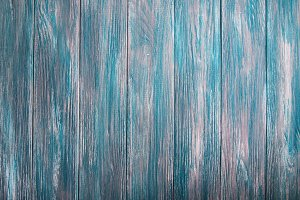 Old green wooden background - wood t